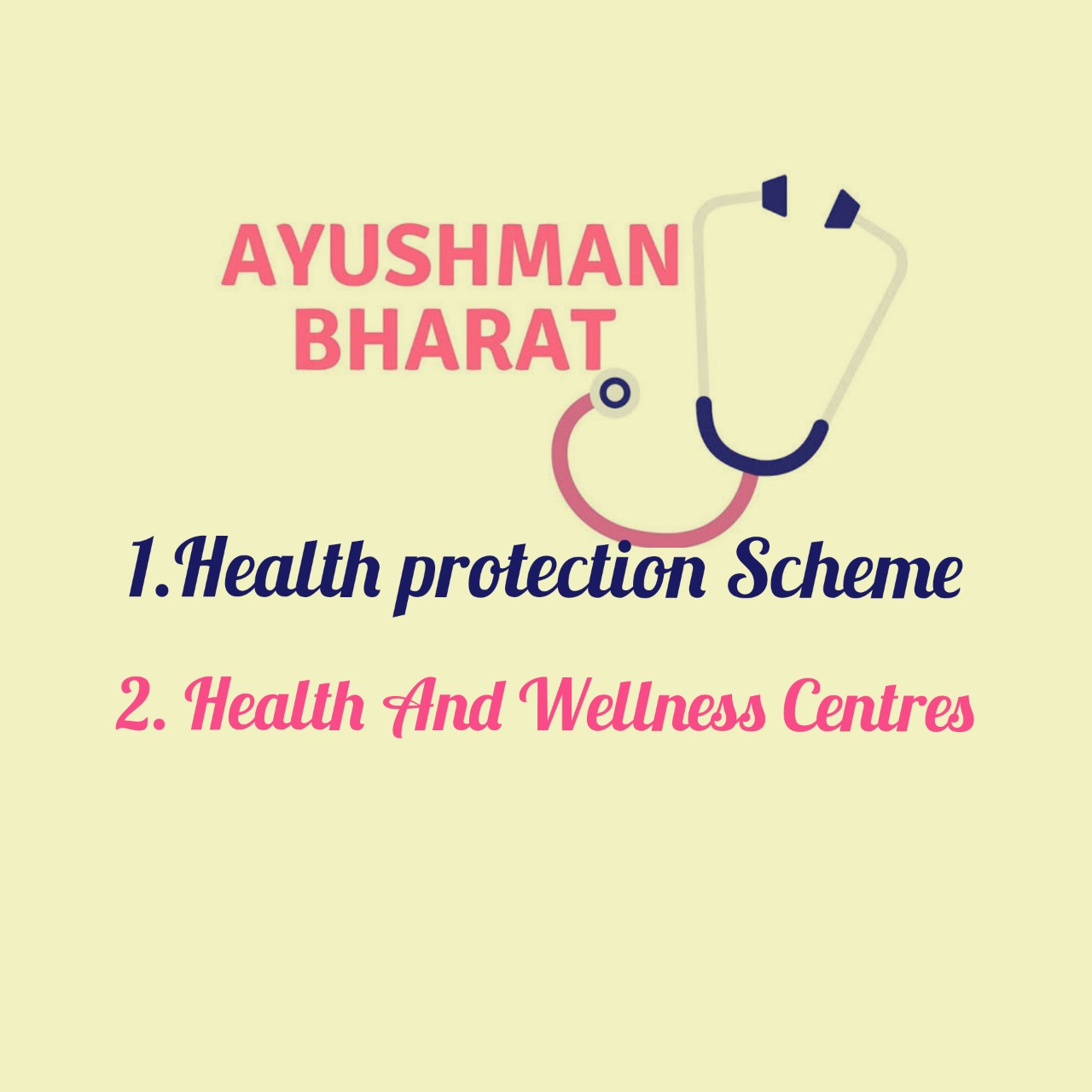 Ayushman Bharat Programme , Ayushman Bharat For A New ...